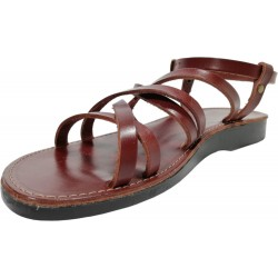 Women's leather sandals Šešonk