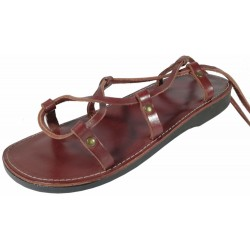 Unisex kožené sandále kristusky Cheops