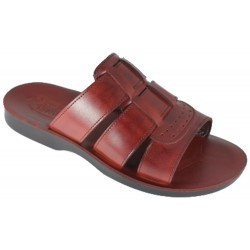 Men's Leather Slippers Kamose