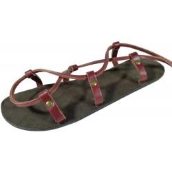 Unisex kožené barefoot sandály kristusky Cheops