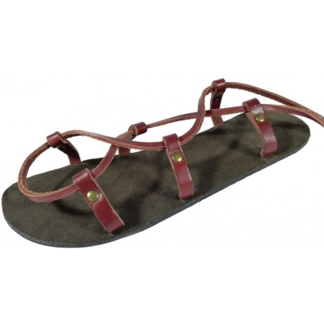 Unisex Leather Christs Barefoot Sandals Cheops