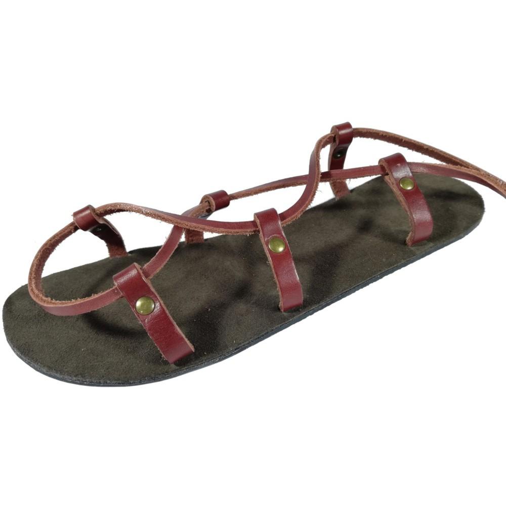 28d6473c0d18 Unisex kožené barefoot sandále kristusky Cheops - Faraon-sandals.cz