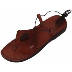 Dámské kožené sandály 035 Šabataka
