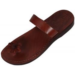 Dámske kožené sandále Rachef