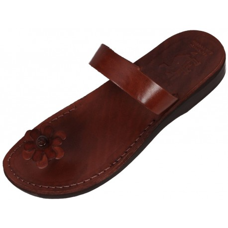 Women's leather sandals Rachef