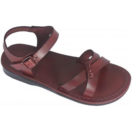 Dámske kožené sandále 057 Eseta