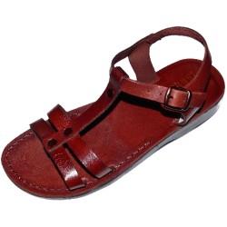 Dámske kožené sandále Hunei