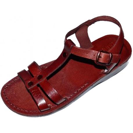 Dámské kožené sandály 062 Hunei