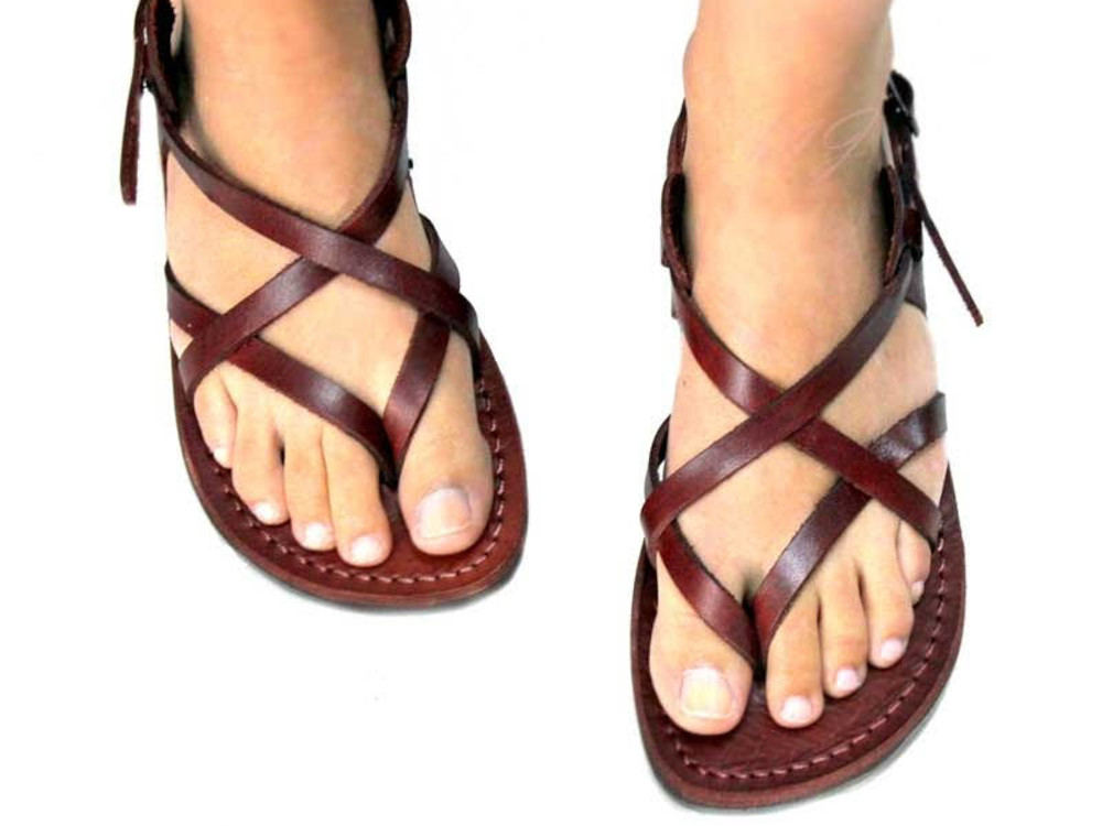 Leather goods Faraon sandals