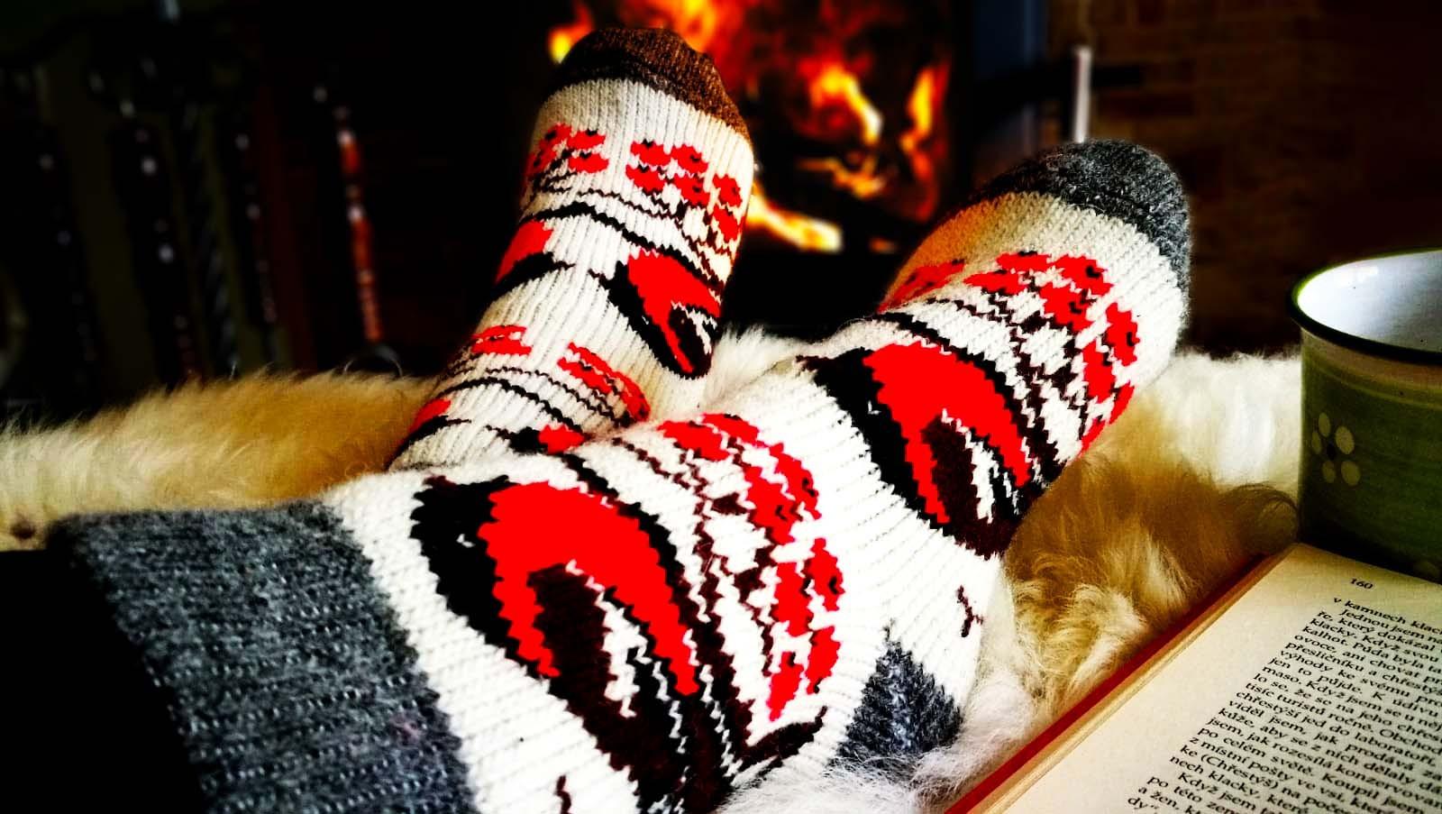 Ponožky z kozí srsti