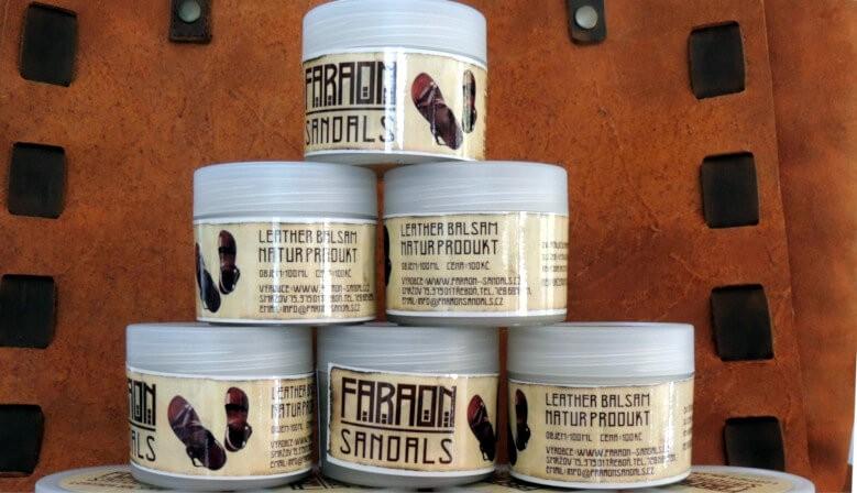 Prírodný balzam na kožené výrobky