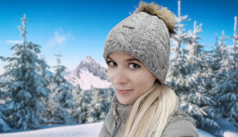 Vlněné zimní čepice